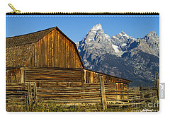 Barn On Mormon Row Carry-all Pouch