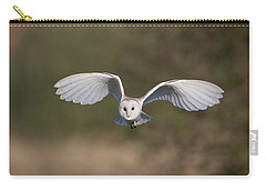 Barn Owl Approaching Carry-all Pouch