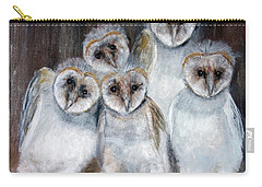 Barn Owl Chicks Carry-all Pouch