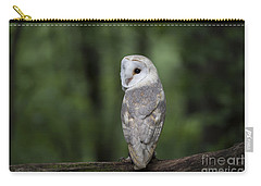Barn Owl In The Woods 2 Carry-all Pouch