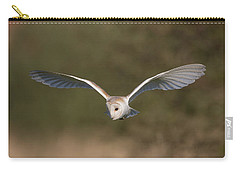 Barn Owl Quartering Carry-all Pouch