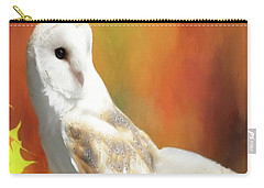 Barn Owl Carry-all Pouch by Suzanne Handel