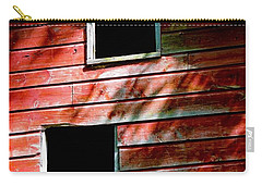 Carry-all Pouch featuring the photograph Barn Red by Kendall McKernon