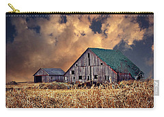Barn Surrounded With Beauty Carry-all Pouch