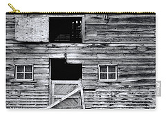 Barn Texture Carry-all Pouch by Wayne Sherriff