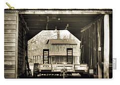 Barn Through A Barn Carry-all Pouch