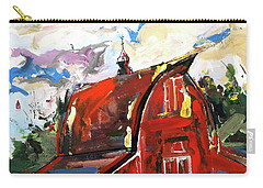 Barn Two Carry-all Pouch by John Jr Gholson
