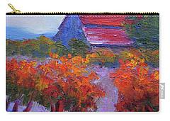 Barn Vineyard Autumn Carry-all Pouch