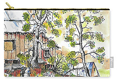 Barns And Trees 1 Carry-all Pouch