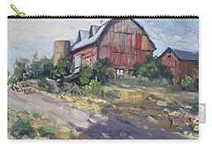 Barns In Georgetown Carry-all Pouch by Ylli Haruni