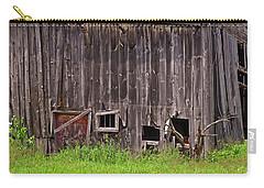 Carry-all Pouch featuring the photograph Barnside by Lynda Lehmann