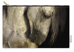 Baroque Horse Portrait Carry-all Pouch