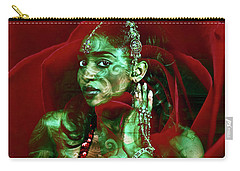 Baroque Meets Oriental Rose Carry-all Pouch