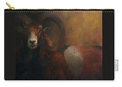 Baroque Mouflon Portrait Carry-all Pouch