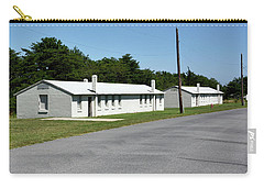 Carry-all Pouch featuring the photograph Barracks At Fort Miles - Cape Henlopen State Park by Brendan Reals
