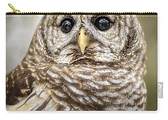 Carry-all Pouch featuring the photograph Hoot by Steven Sparks