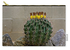 Barrel Against Wall No50 Carry-all Pouch by Mark Myhaver