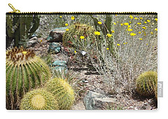 Barrels And Barrels Of Cactus Carry-all Pouch