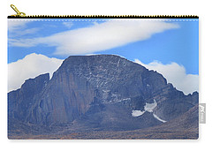 Carry-all Pouch featuring the photograph Barren Mountain Landscape Colorado by Dan Sproul