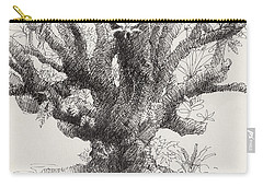 Barringtonia Tree Carry-all Pouch
