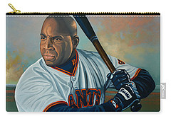 Barry Bonds Carry-all Pouch by Paul Meijering