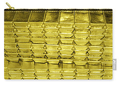 Bars Of Gold Carry-all Pouch