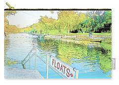 Barton Springs Sketch Carry-all Pouch