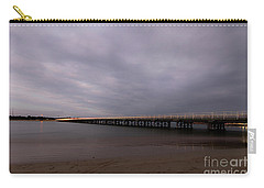 Carry-all Pouch featuring the photograph Barwon Heads Bridge by Linda Lees