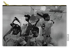 Base Ball Players Carry-all Pouch
