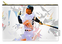 Carry-all Pouch featuring the painting Baseball 25 by Movie Poster Prints