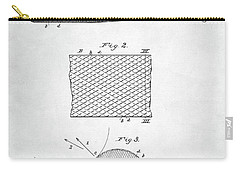 Baseball Bat Patent Carry-all Pouch