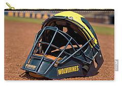 Baseball Catcher Helmet Carry-all Pouch