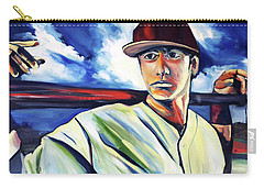 Baseball Crucifix Carry-all Pouch