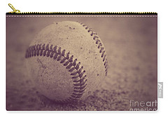 Baseball In Sepia Carry-all Pouch