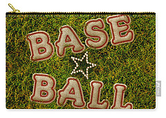 Baseball Carry-all Pouch by La Reve Design