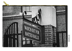 Baseball Warning Bw Carry-all Pouch