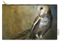 Bashful Barn Owl Carry-all Pouch