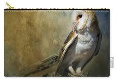 Bashful Barn Owl Carry-all Pouch