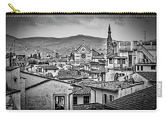 Carry-all Pouch featuring the photograph Basilica Di Santa Croce by Sonny Marcyan