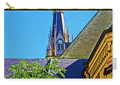 Basilica Of The Sacred Heart Notre Dame Carry-all Pouch by Dan Sproul