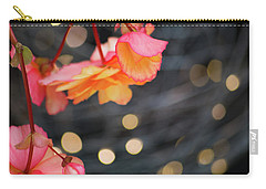 Carry-all Pouch featuring the photograph Basket Begonia by Lora Lee Chapman