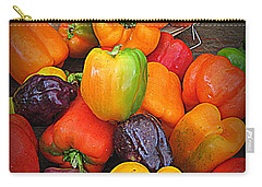 Basket Full O'peppers Carry-all Pouch
