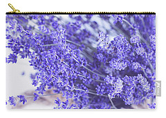 Basket Of Lavender Carry-all Pouch