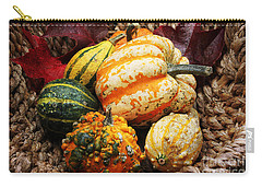 Basket Of Pumpkins Carry-all Pouch