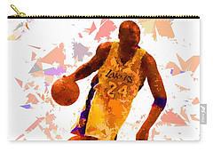 Carry-all Pouch featuring the painting Basketball 24 by Movie Poster Prints