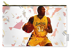 Carry-all Pouch featuring the painting Basketball 37 by Movie Poster Prints