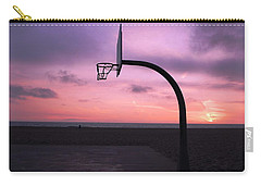 Basketball Court At Sunset Carry-all Pouch