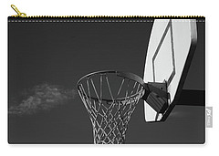 Carry-all Pouch featuring the photograph Basketball Court by Richard Rizzo