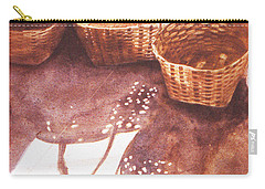 Baskets In The Sun Carry-all Pouch