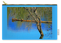 Basking Under The Sun 2 Carry-all Pouch by Steve Warnstaff